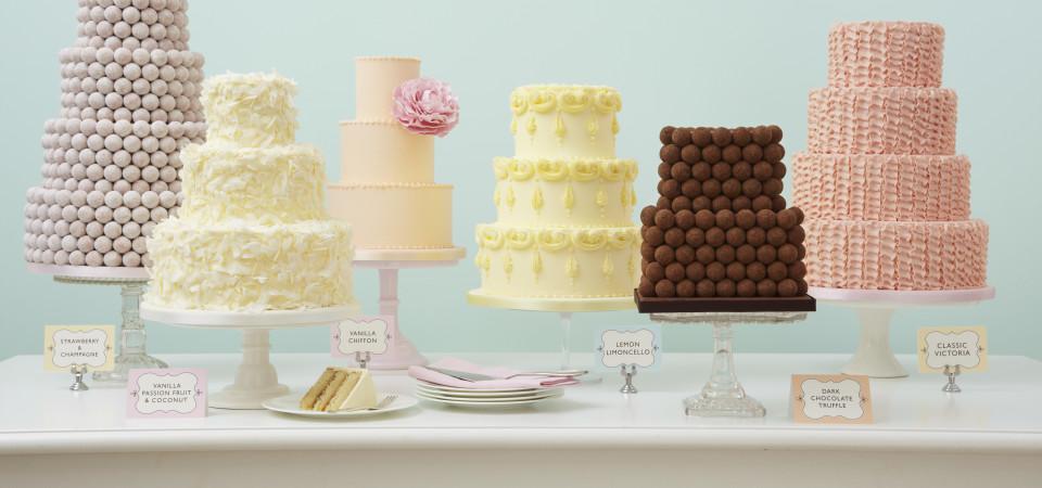 Pasteles y Mesas dulces para bodas